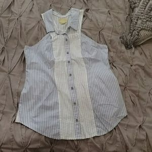 Anthropology Maeve brand sz 10 button down top